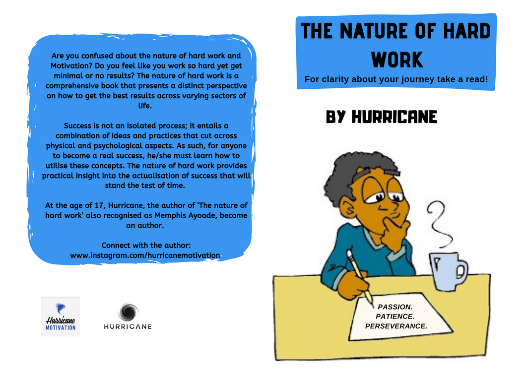 The nature of hard work (E-book)