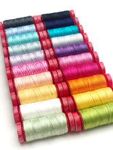 Load image into Gallery viewer, Great British Quilter Back to Basics Aurifil 12 Weight Collection