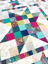 Load image into Gallery viewer, Resplendent Star - PDF Download Quilt Pattern