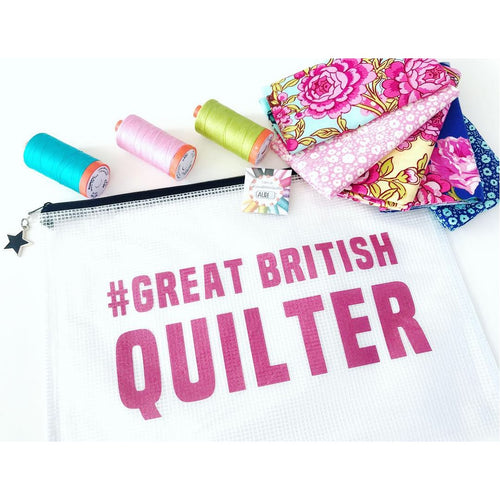 Great British Quilter Project pouch
