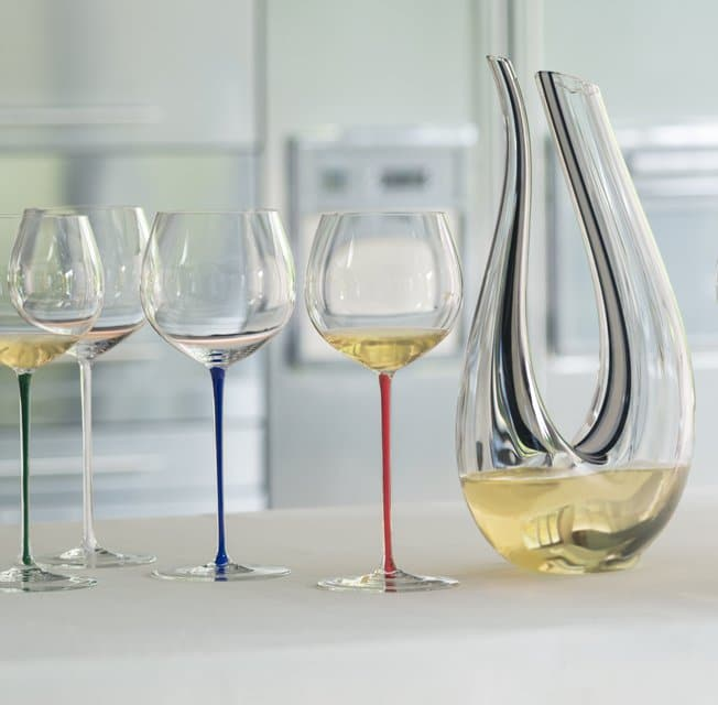 RIEDEL DECANTER CRISTALLO AMADEO FATTO A MANO