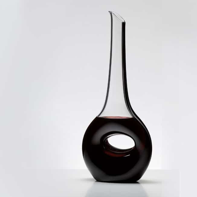 RIEDEL DECANTER CRISTALLO OCCHIO NERO BLACK TIE