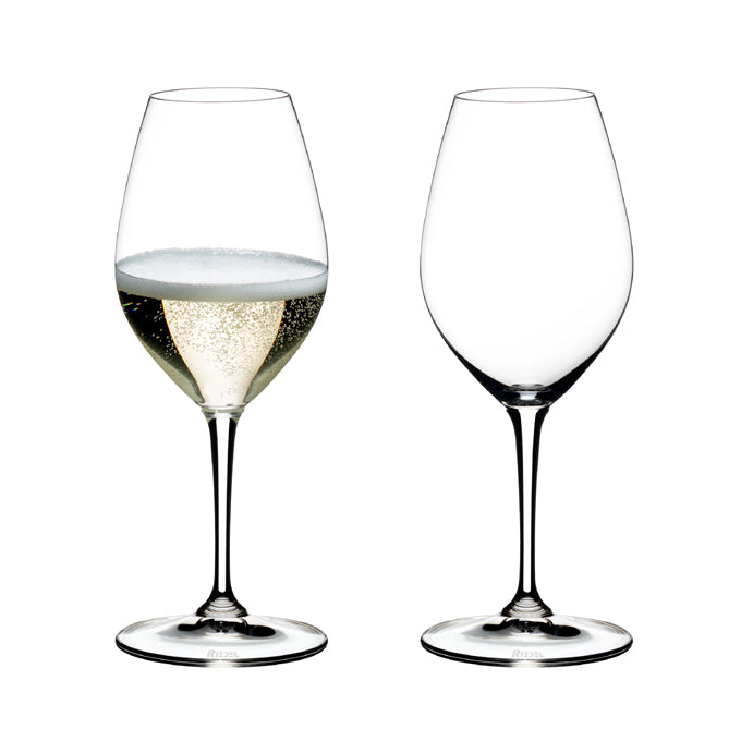 Riedel Set 6 Calici cristallo Champagne glass wine Vinum 6416/58