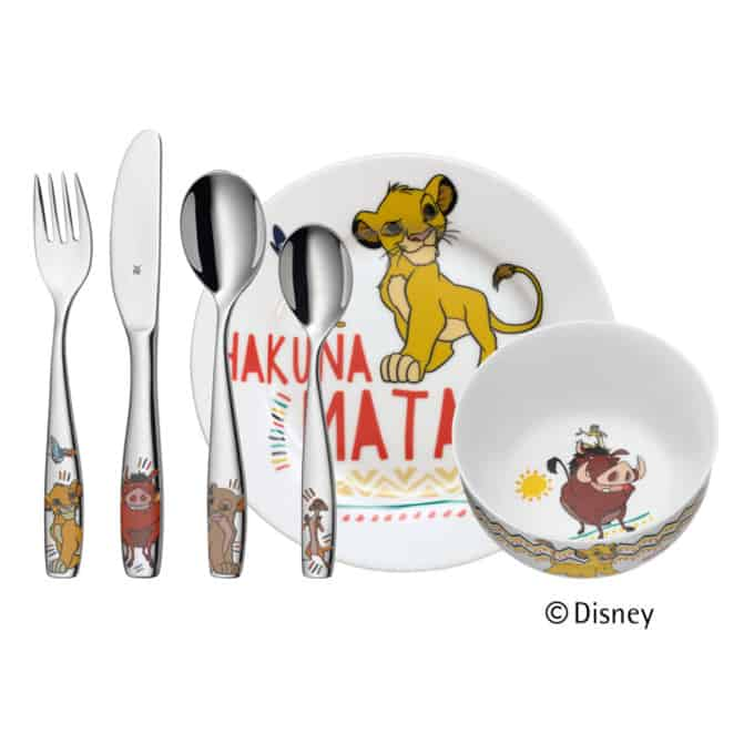 Wmf Set Pappa 6 pezzi Re Leone Disney