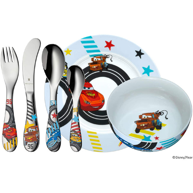 SET PAPPA CARS DISNEY WMF 6 PEZZI