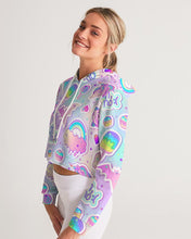 Load image into Gallery viewer, Oh No! Women's Cropped Hoodie