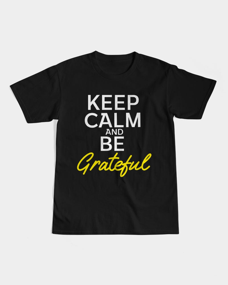 Keep Calm And Be Grateful Men's Graphic Tee