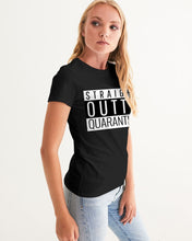 Load image into Gallery viewer, Straight Outta Quarantine Women's Graphic Tee