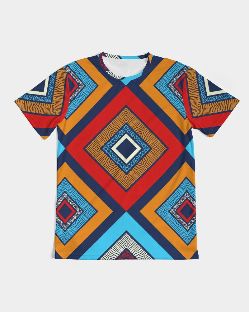 Tribal Patchwork Men's Tee