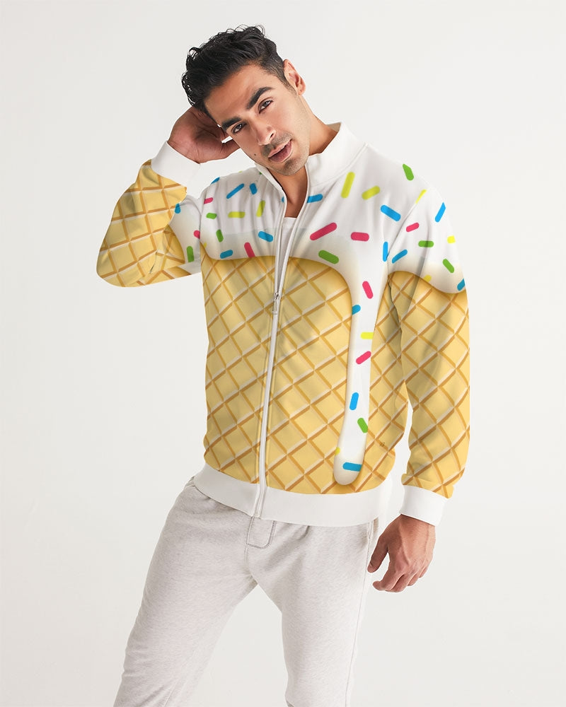 Ice cream cone Men's Track Jacket