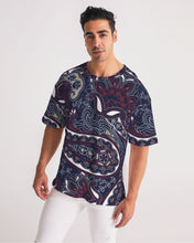 Load image into Gallery viewer, Paisley Beauty Men's Premium Heavyweight Tee