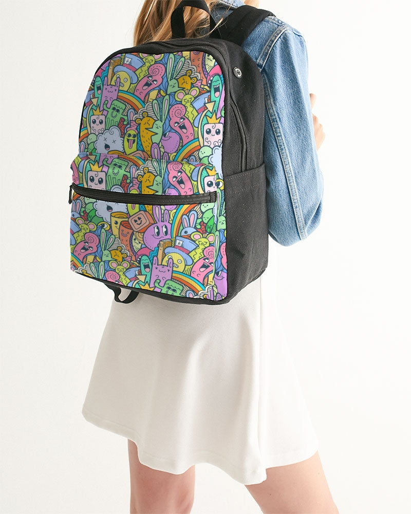 Cuteness Small Canvas Backpack
