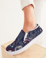 Load image into Gallery viewer, Paisley Beauty Women's Slip-On Canvas Shoe