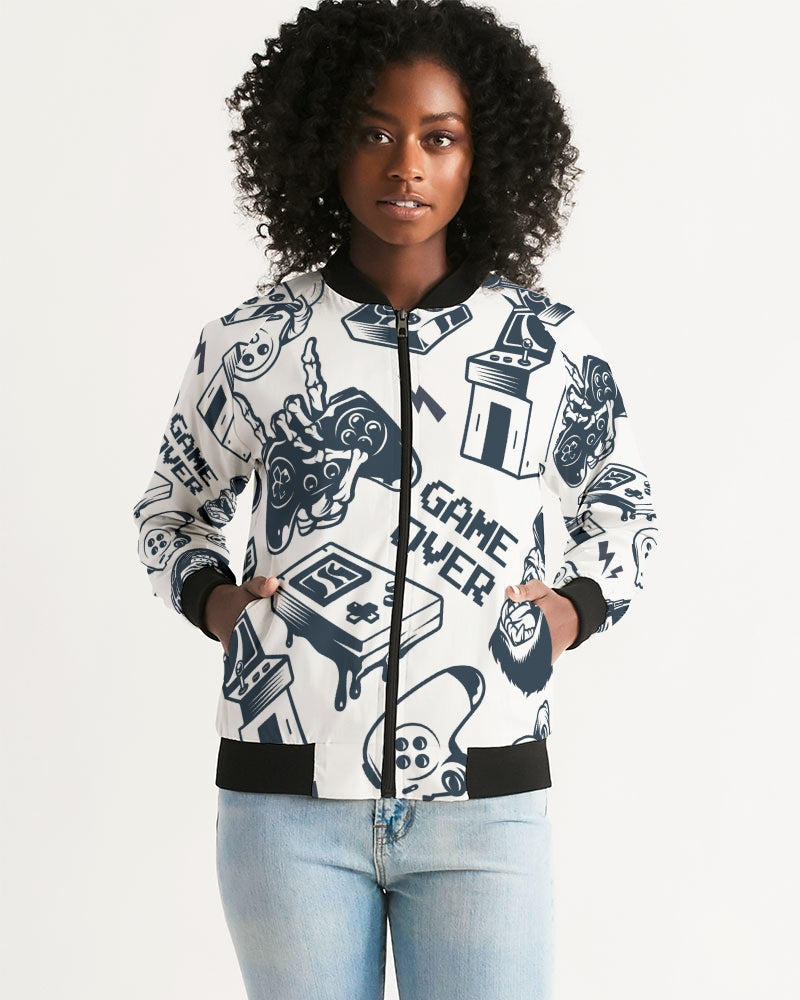 Game Over Women's Bomber Jacket