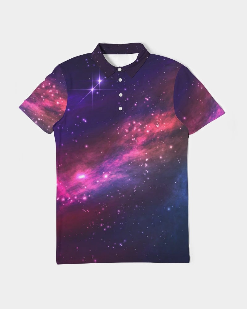 Deep Space Men's Slim Fit Short Sleeve Polo