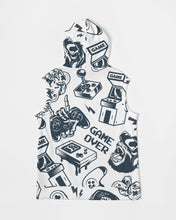 Load image into Gallery viewer, Game Over Men's Premium Heavyweight Sleeveless Hoodie