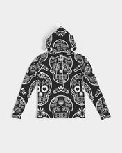Load image into Gallery viewer, Black & White Calavera Women's Hoodie