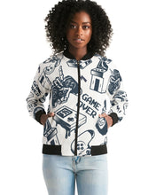 Load image into Gallery viewer, Game Over Women's Bomber Jacket