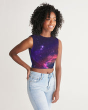 Load image into Gallery viewer, Deep Space Women's Twist-Front Tank