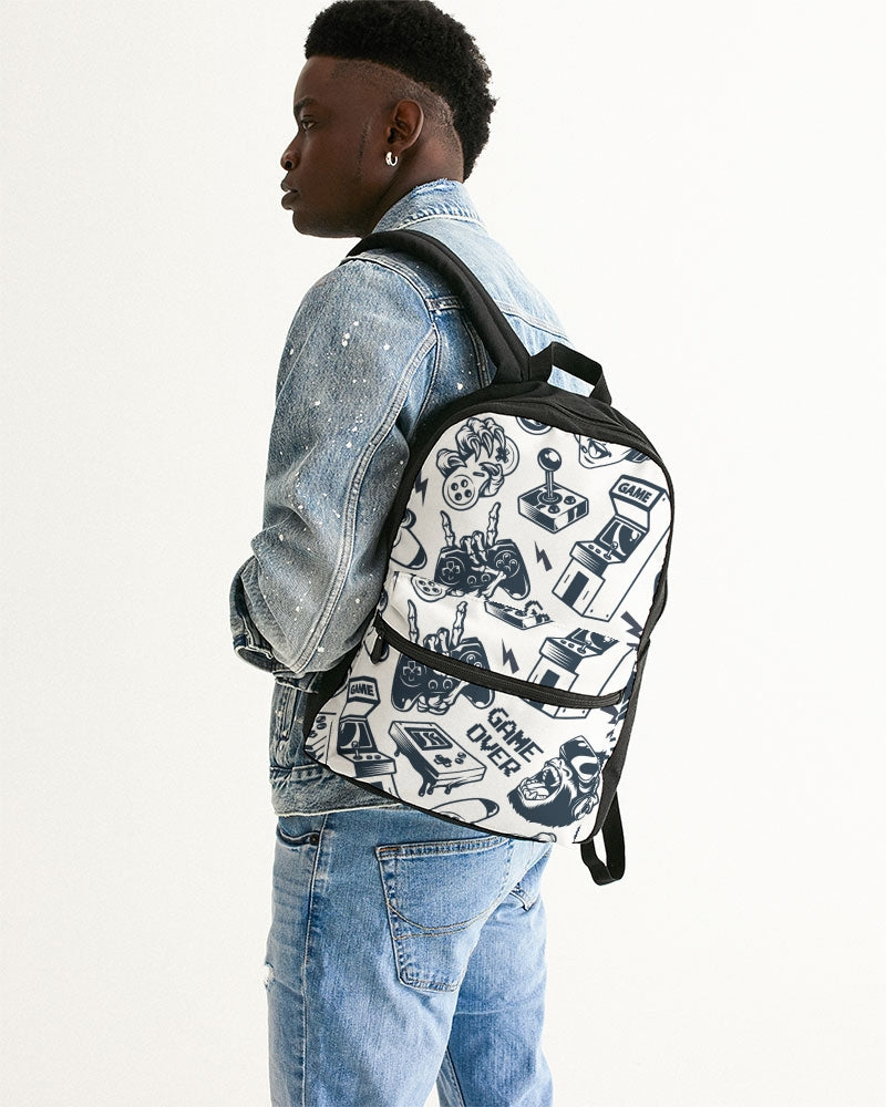 Game Over Small Canvas Backpack