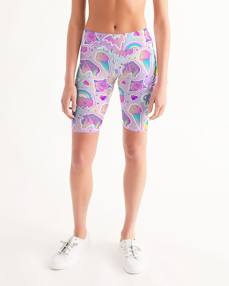 Oh No! Women's Mid-Rise Bike Shorts