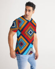 Load image into Gallery viewer, Tribal Patchwork Men's Tee