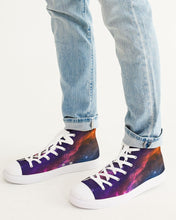 Load image into Gallery viewer, Deep Space Men's Hightop Canvas Shoe
