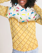 Load image into Gallery viewer, Ice Cream Cone Women's Hoodie