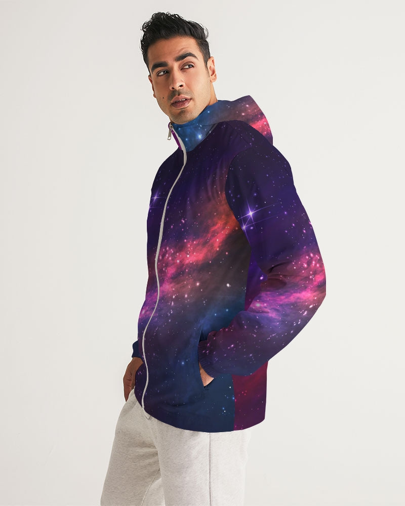 Deep Space Men's Windbreaker