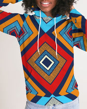 Load image into Gallery viewer, Tribal Patchwork Women's Hoodie