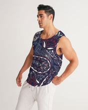 Load image into Gallery viewer, Paisley Beauty Men's Sports Tank