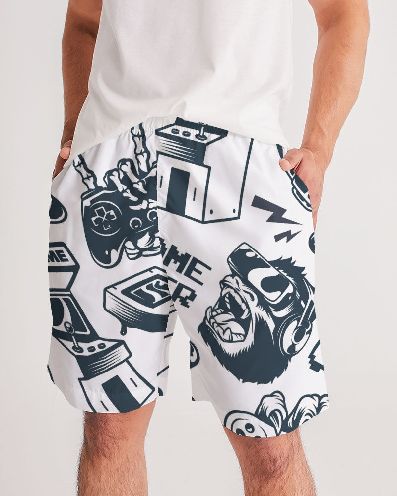 Game Over Men's Jogger Shorts