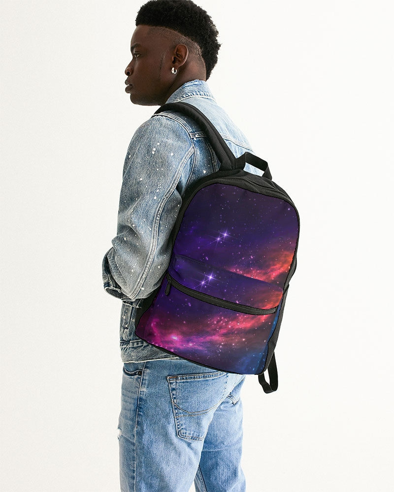 Deep Space Small Canvas Backpack