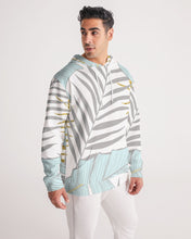 Load image into Gallery viewer, Banana And Golden Palm Leaves Men's Hoodie