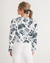 Load image into Gallery viewer, Game Over Women's Cropped Sweatshirt