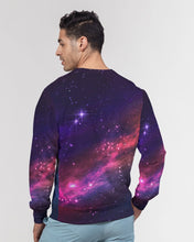 Load image into Gallery viewer, Deep Space Men's Classic French Terry Crewneck Pullover