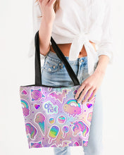 Load image into Gallery viewer, Oh No! Canvas Zip Tote