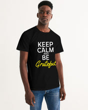 Load image into Gallery viewer, Keep Calm And Be Grateful Men's Graphic Tee