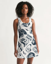Load image into Gallery viewer, Game Over Women's Racerback Dress