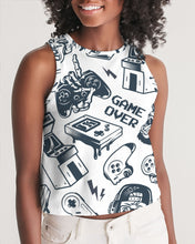 Load image into Gallery viewer, Game Over Women's Cropped Tank
