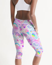 Load image into Gallery viewer, Oh No! Women's Mid-Rise Capri