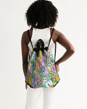 Load image into Gallery viewer, Cuteness Canvas Drawstring Bag