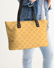Load image into Gallery viewer, Waffles Stylish Tote