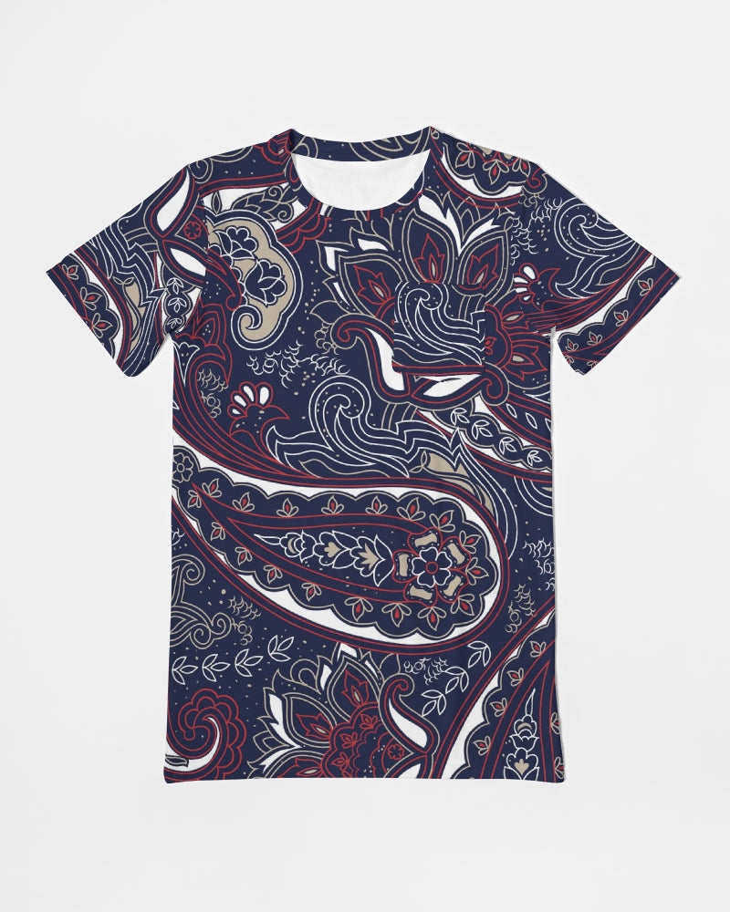 Paisley Beauty Men's Everyday Pocket Tee