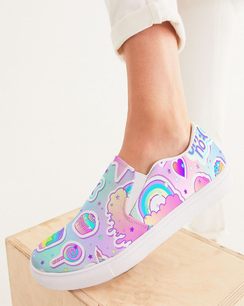 Oh No! Women's Slip-On Canvas Shoe