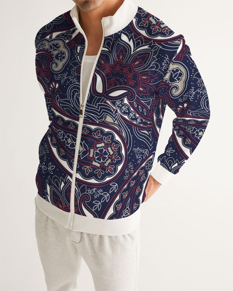 Paisley Beauty Men's Track Jacket