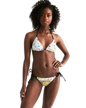 Load image into Gallery viewer, Ice cream cone Women's Triangle String Bikini