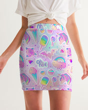 Load image into Gallery viewer, Oh No! Women's Mini Skirt
