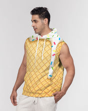 Load image into Gallery viewer, Ice cream cone Men's Premium Heavyweight Sleeveless Hoodie