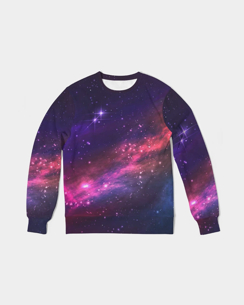 Deep Space Men's Classic French Terry Crewneck Pullover